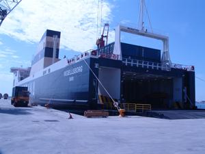 Integral Shipping ha sido invitada a la primera escala del buque 'Wedellsborg' de Nordana Line